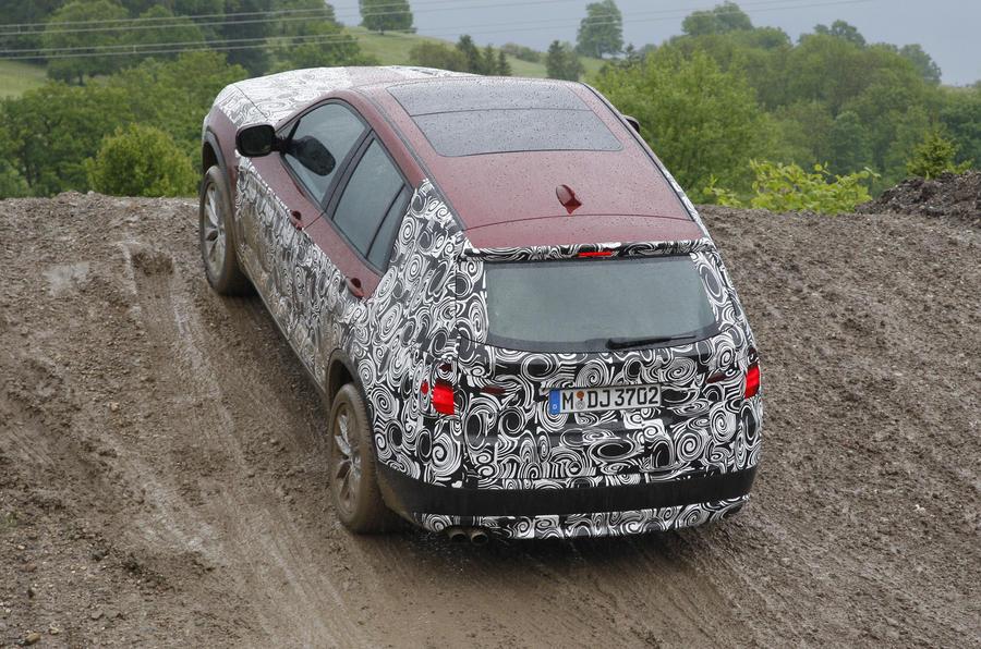 BMW X3 off-roading