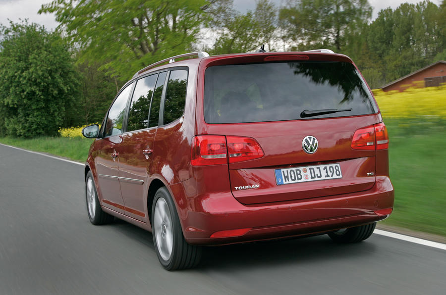 Volkswagen Touran rear