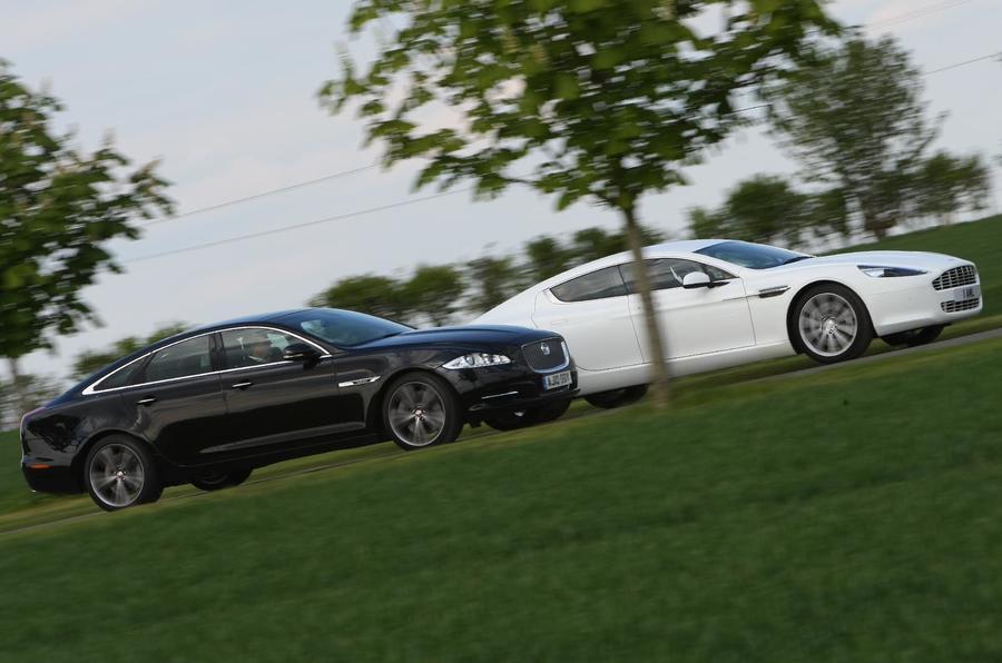 Jaguar XJ v Aston Rapide