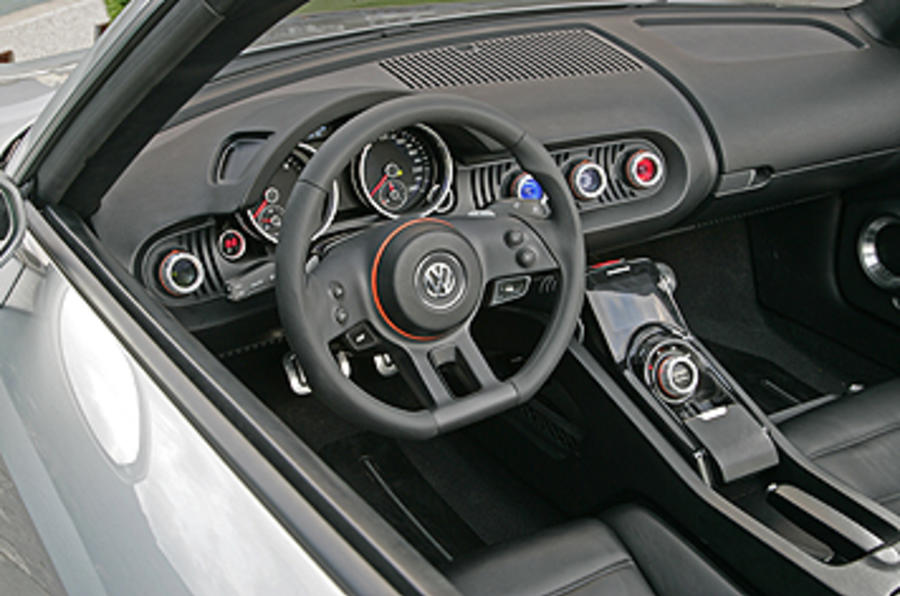 Volkswagen BlueSport dashboard