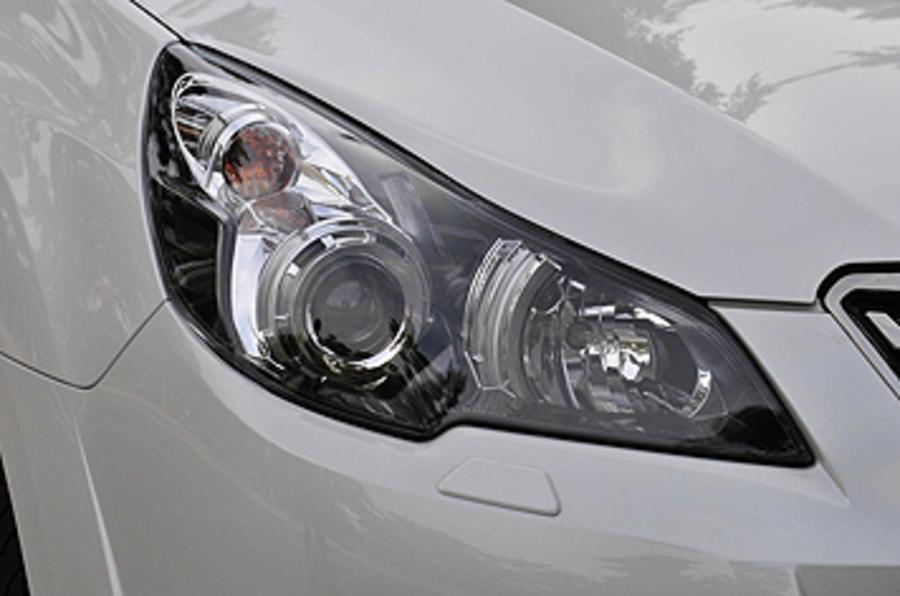 Subaru Legacy headlights