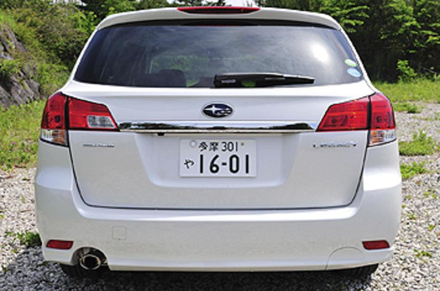 Subaru Legacy rear end