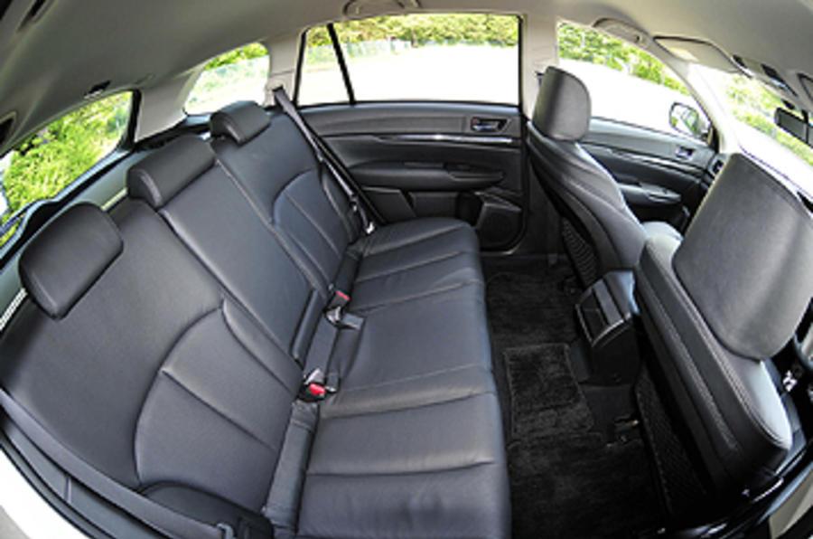 Subaru Legacy rear seats