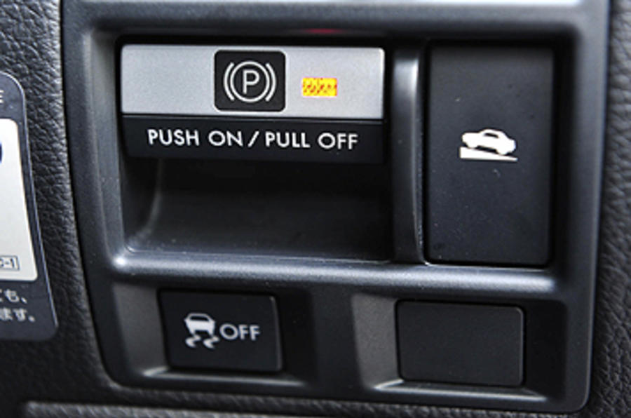 Subaru Legacy switchgear