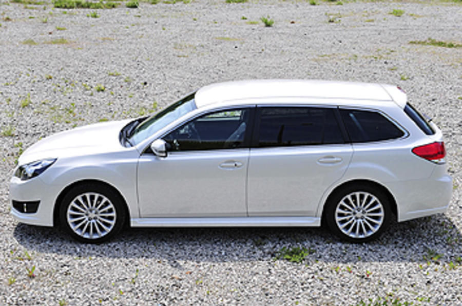 Subaru Legacy side profile
