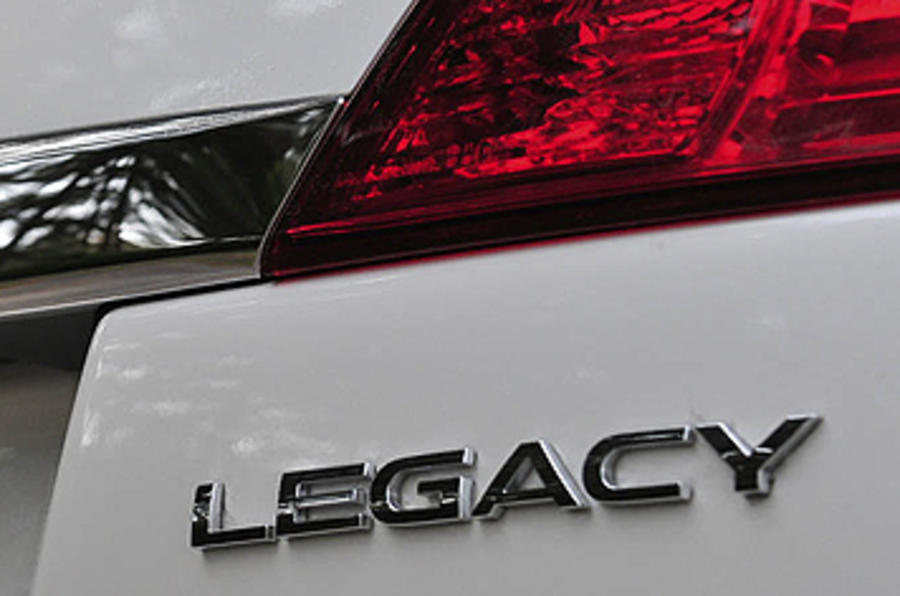 Subaru Legacy badging