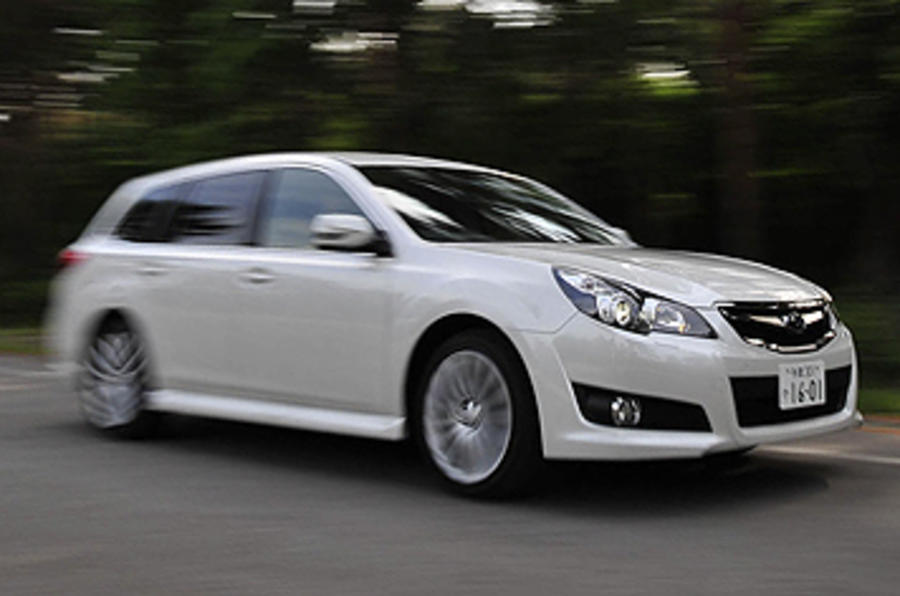 Subaru Legacy front quarter