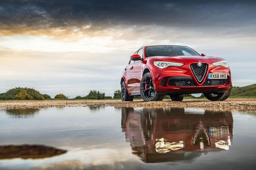 Alfa Romeo Stelvio Quadrifoglio 2019 road test review - hero static