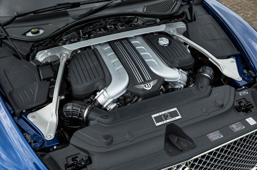 Bentley Continental GT 2018 Autocar road test review engine