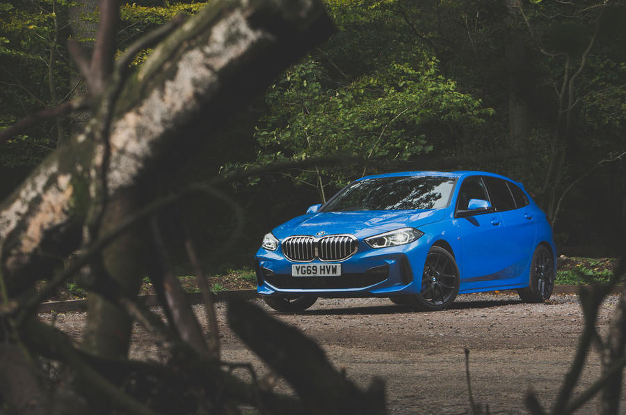 BMW 1 Series 118i 2019 road test review - static