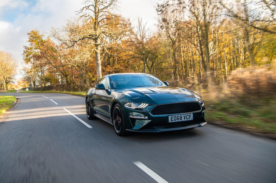 Ford Mustang Bullitt 2018 road test review - on the road hero