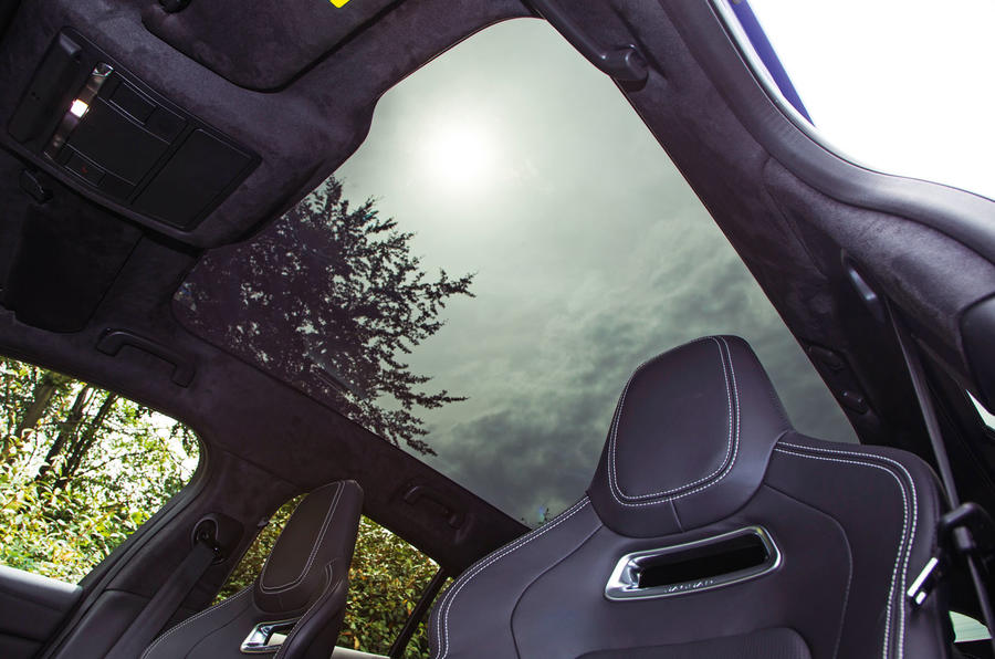 Jaguar I-Pace 2018 road test review sunroof