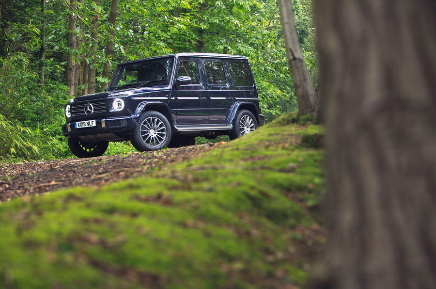 Mercedes-Benz G-Class 2019 road test review - static