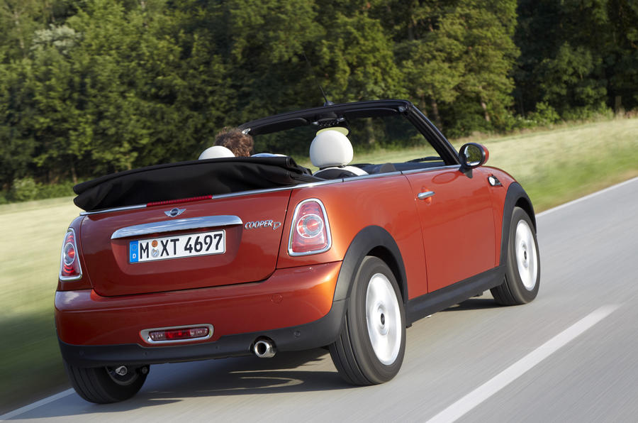 Mini Cooper D Convertible rear quarter