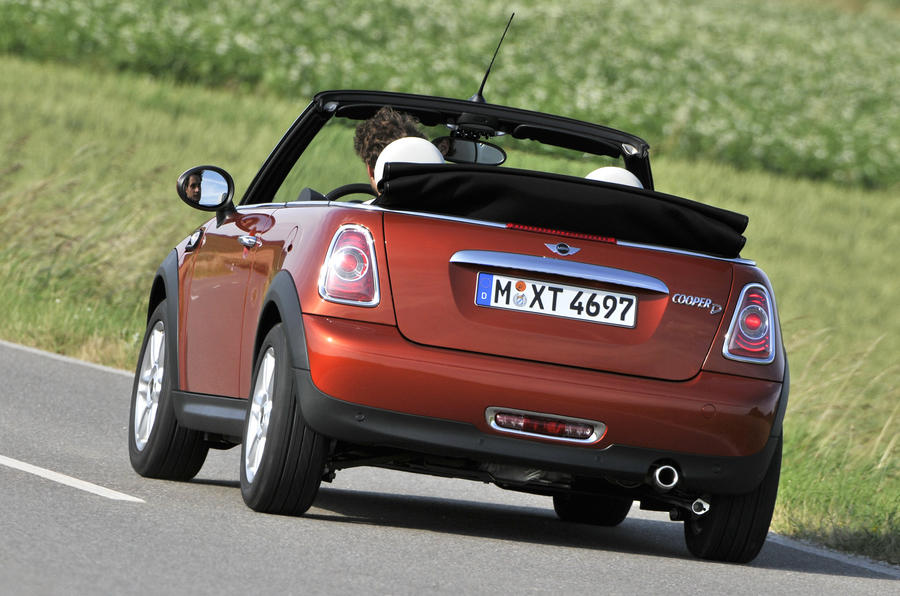 Mini Cooper D Convertible rear