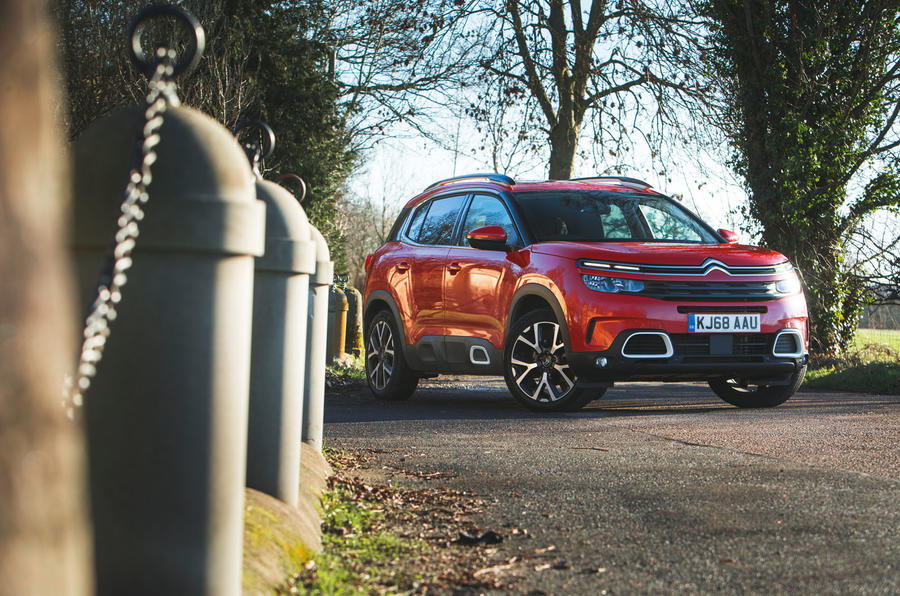 Citroen C5 Aircross 2019 road test review - static