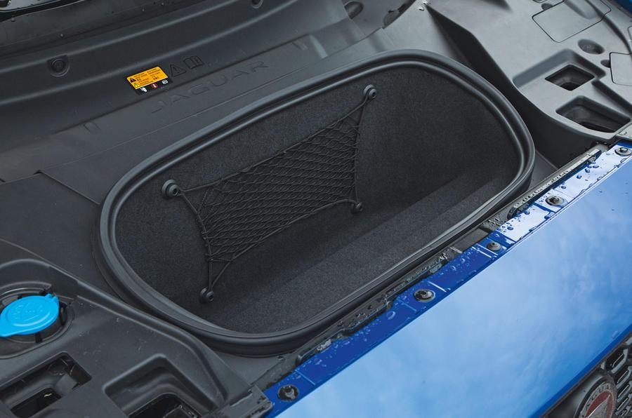 Jaguar I-Pace 2018 road test review front storage