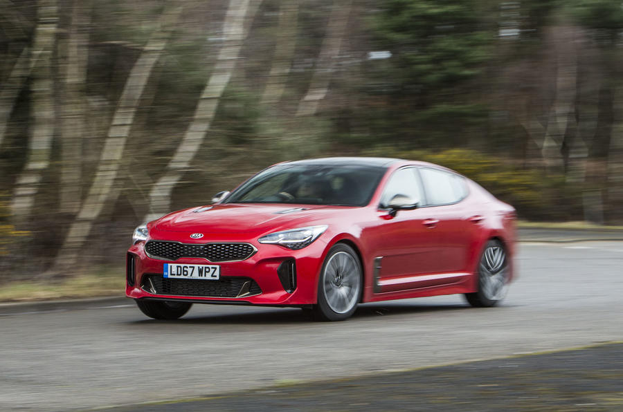 Kia Stinger GT line 2018 review cornering