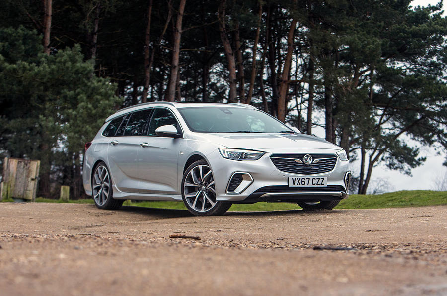 Vauxhall Insignia Sports Tourer GSI review static hero