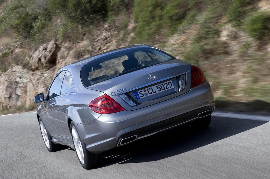 Mercedes-Benz CL 500 rear quarter