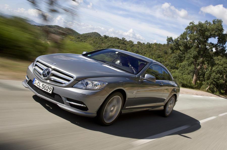 Mercedes-Benz CL 500 BlueEfficiency front
