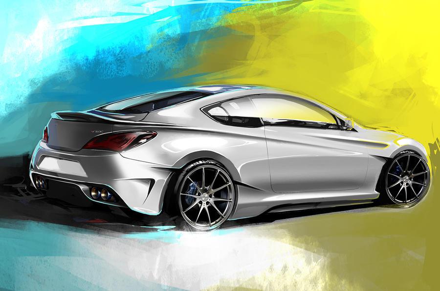 Hyundai Genesis Legato concept to debut at SEMA show