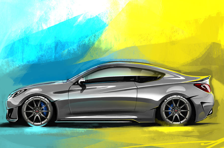 Hyundai Genesis Legato concept to debut at SEMA show