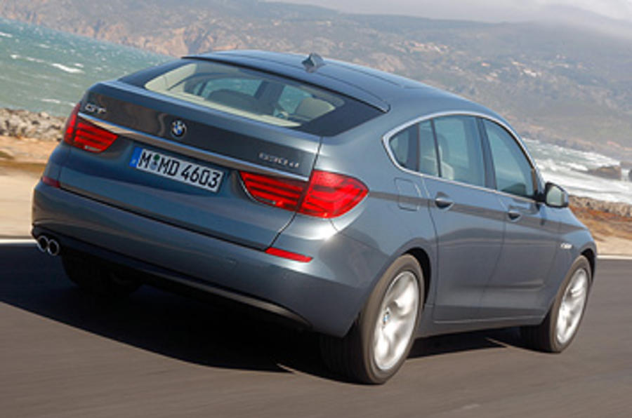 BMW 5 Series GT rear