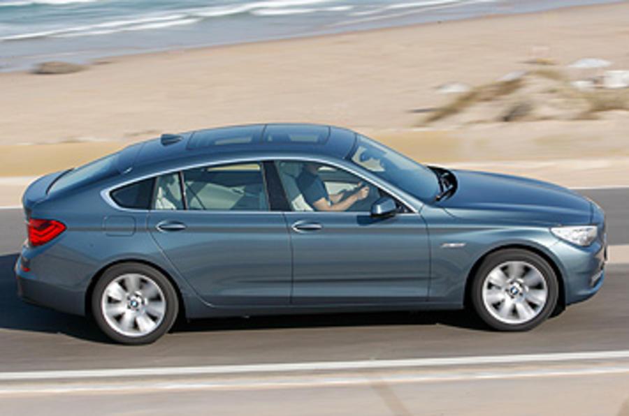 BMW 5 Series GT side profile