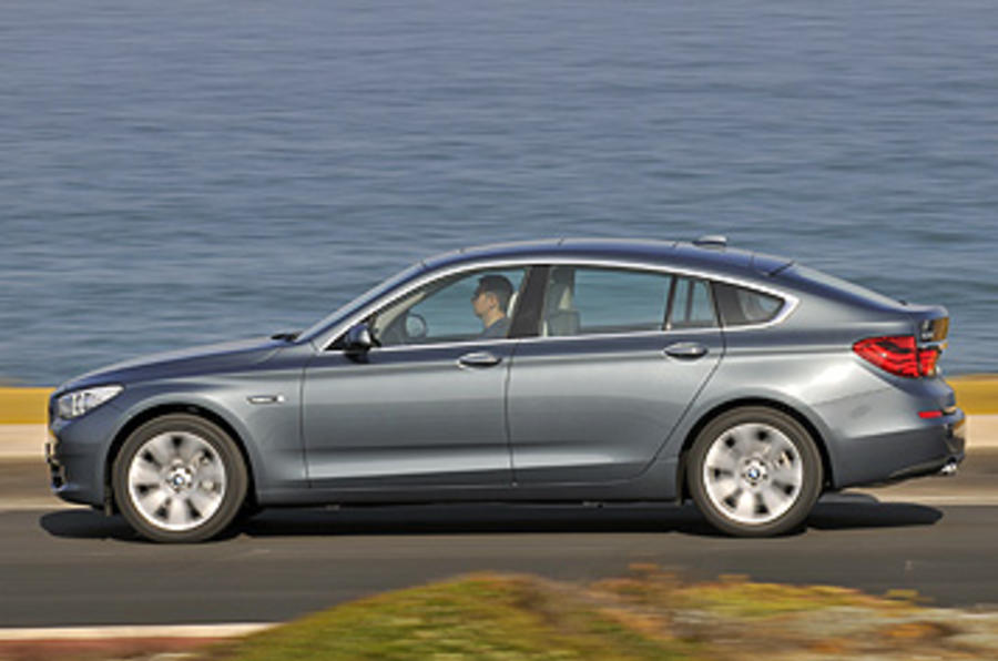 BMW 5 Series GT side profile