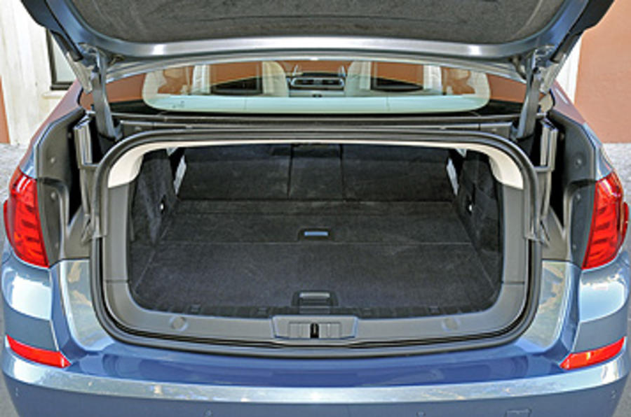 BMW 5 Series GT boot opening