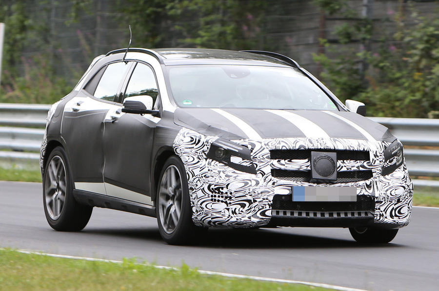 Mercedes GLA AMG Spotted - latest pics