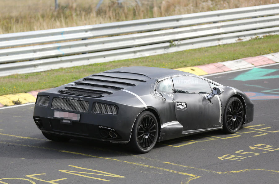 Lamborghini Gallardo replacement - new pictures