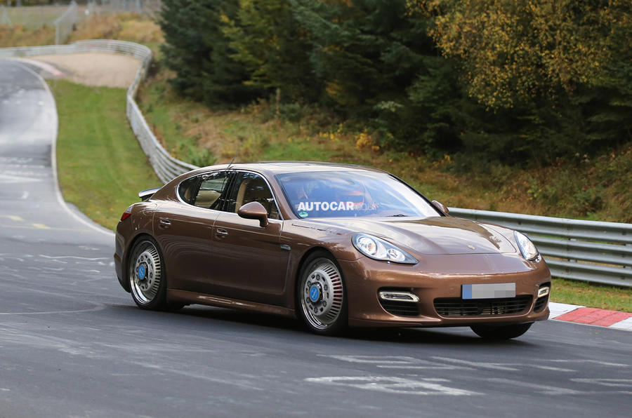 Porsche tests next-generation Bentley platform