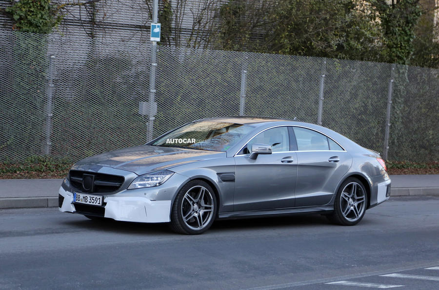 New Mercedes-Benz CLS63 AMG facelift - first pictures
