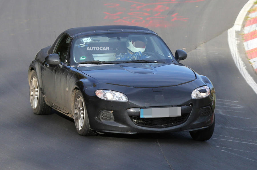 Possible Mazda MX-5 reveal at New York show