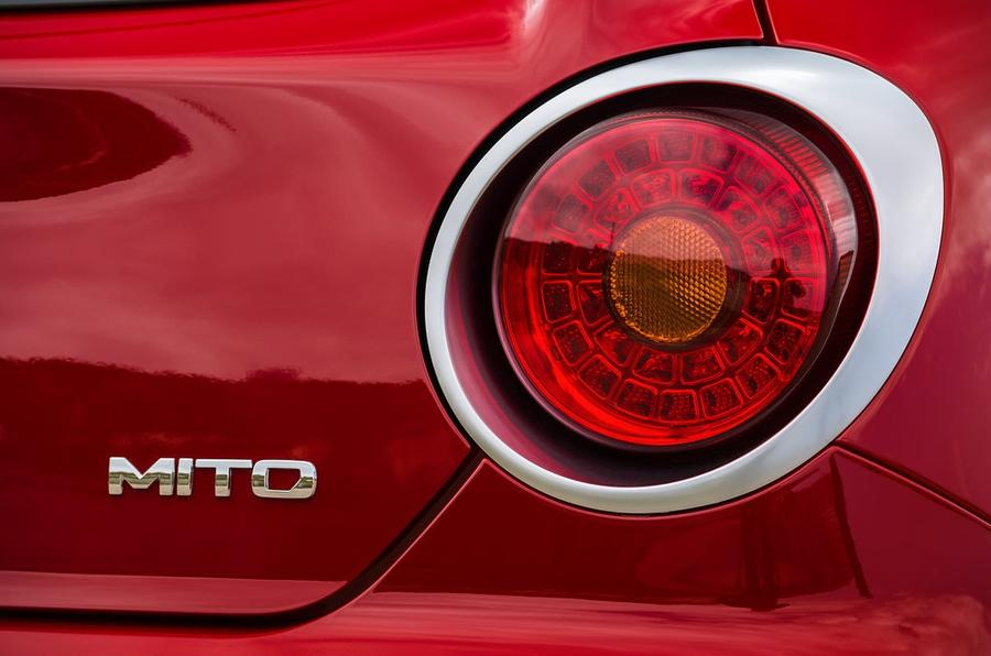 Alfa Romeo Mito review rear lights