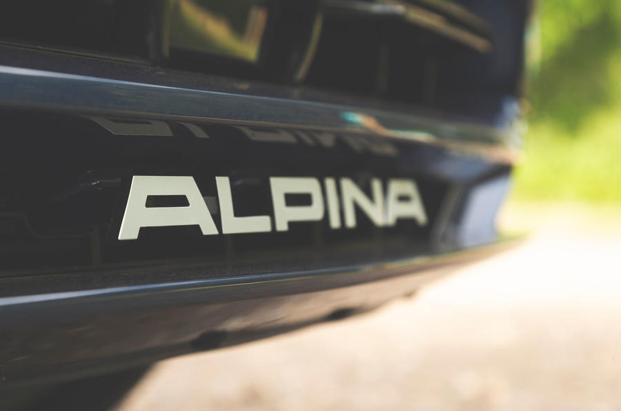 Alpina XD3 2019 UK road test review - front bumper