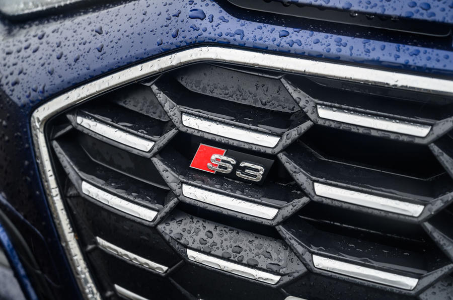 Audi S3 Sportback 2020 road test review - nose badge