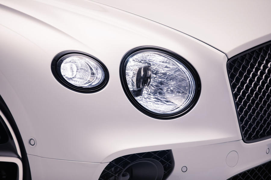 Bentley Continental GTC 2019 first drive review - headlights