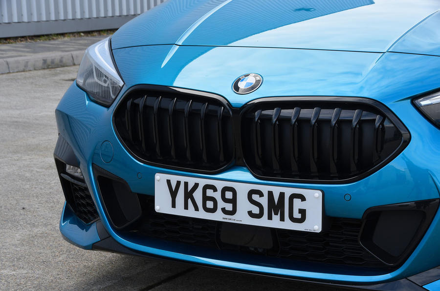 BMW 2 Series Gran Coupe 2020 road test review - front grille