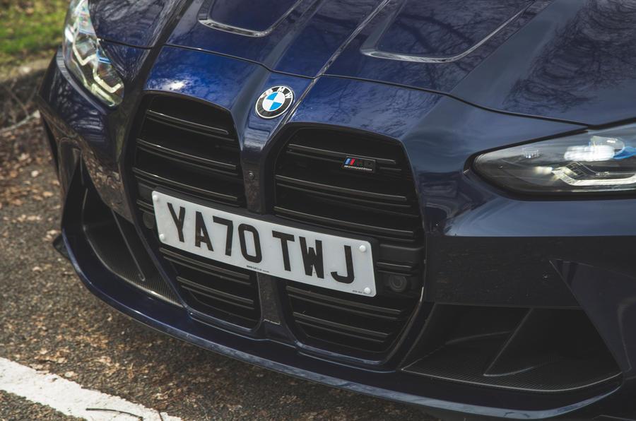 4 BMW M4 Competition 2021 RT calandre