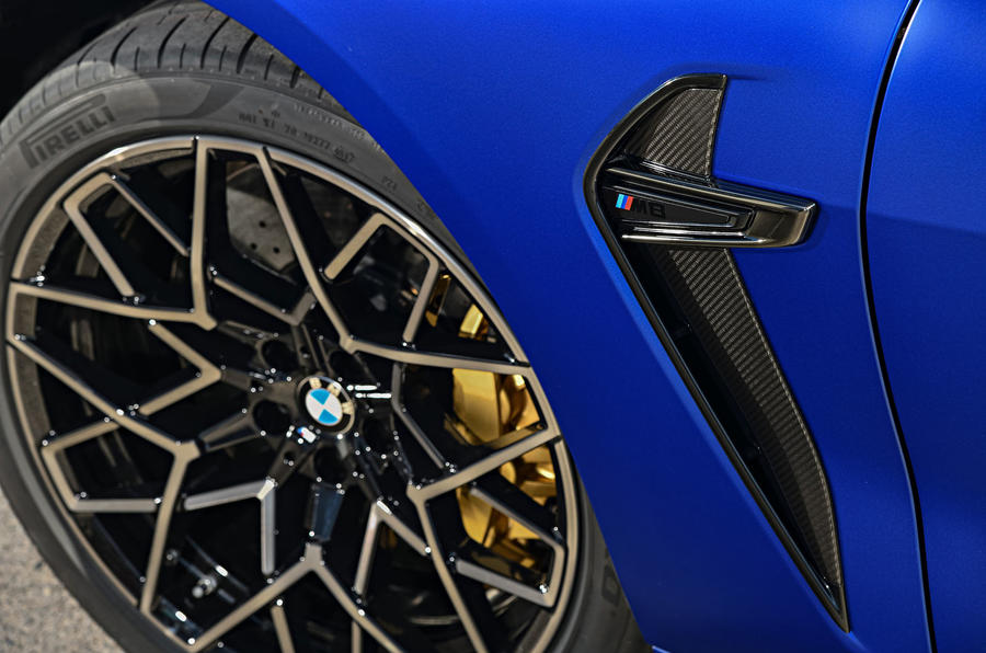BMW M8 Competition coupe 2020 road test review - alloy wheels