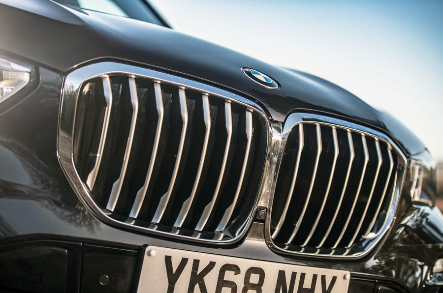 BMW X5 2018 road test review - kidney grilles