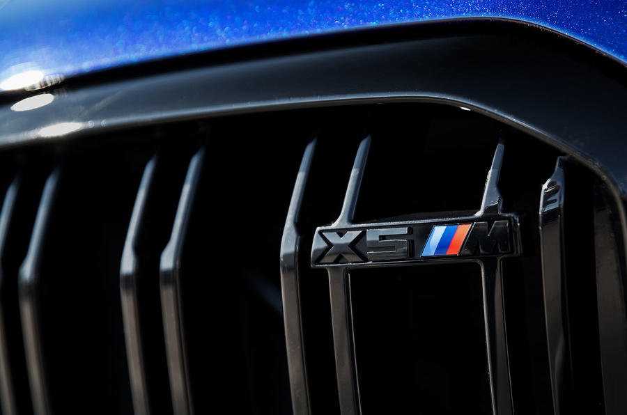 BMW X5 M Competition 2020 road test review - front grille