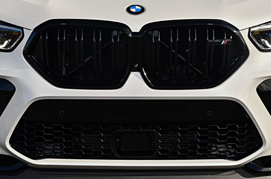 BMW X6 M Competition 2020 road test review - front grille