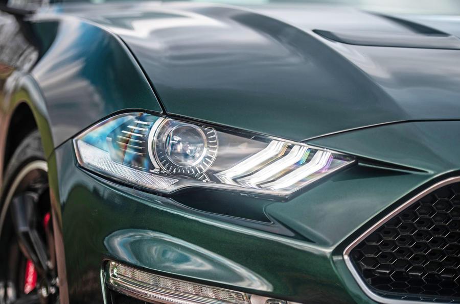 Ford Mustang Bullitt 2018 road test review - headlights