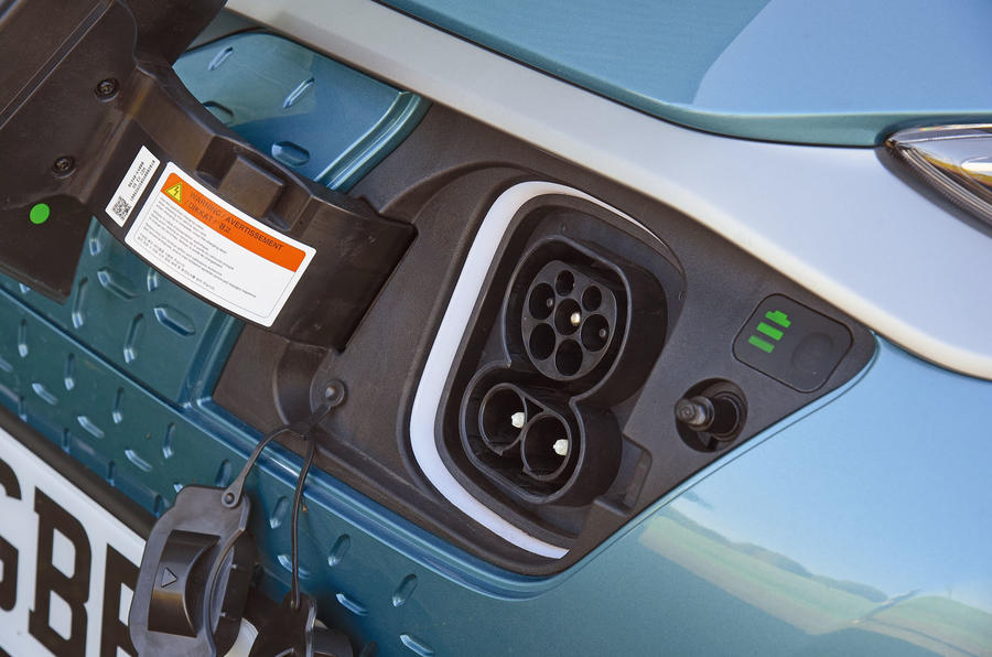 Hyundai Kona Electric 2018 road test review - charging port