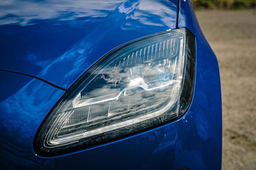 Jaguar E-Pace review headlights