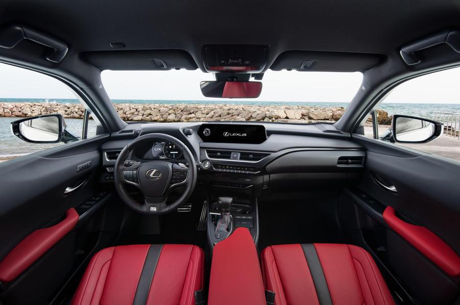 Lexus UX 2019 road test review - cabin